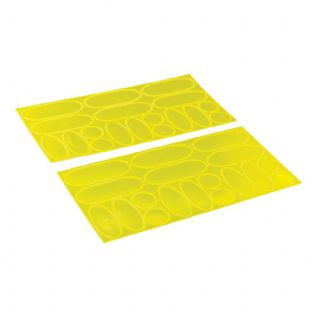 Silverline 598613 36 Piece Hi-Vis Reflective Stickers